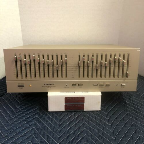 PIONEER SG-9 12-BAND STEREO GRAPHIC EQUALIZER - SERVICED - CLEANED - TESTED