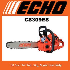 Echo CS309ES Rear Handle Chainsaw, SAVE $100, 5 Year Warranty