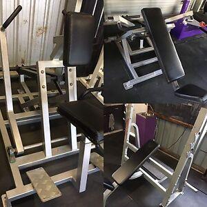 Gym Equipment - Shoulder Press - Incline Press - Seated Row Clontarf Redcliffe Area Preview