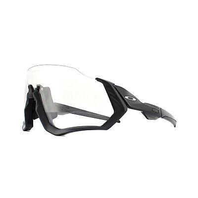 Oakley Sonnenbrille Flight Jacket OO9401-07 Steel Black Iridium Photochromic