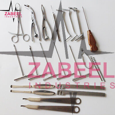 Fracture Of Upper Extremity 24 Pcs Set Orthopedic Veterinary Instrument Zi