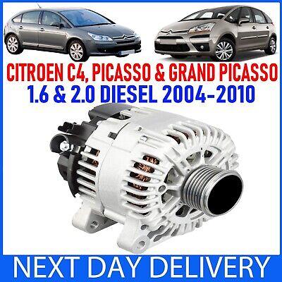 CITROEN C4 & PICASSO & GRAND PICASSO 1.6 2.0 HDI DIESEL 2004-2010 NEW ALTERNATOR