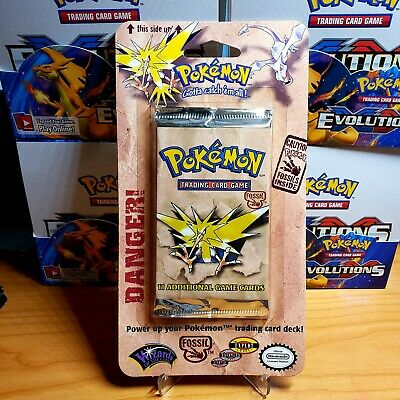 Pokemon Fossil Blister Booster Pack Sealed. Untampered and Unweighted.