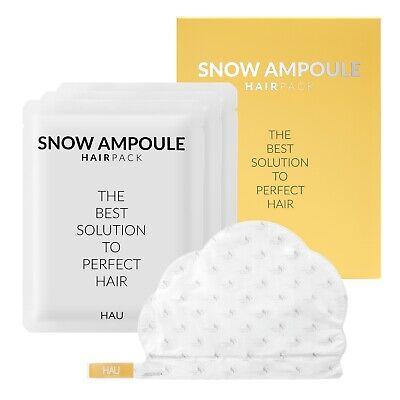 [HAU] Snow Ampoule Hair Pack 30ml x 3ea_Cap Type_ Hair Repair Regrowth
