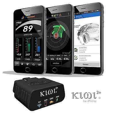 PLX Kiwi 2+ Wifi OBD2 OBDII Code Scanner Reader for iOS, iPhone, iPad