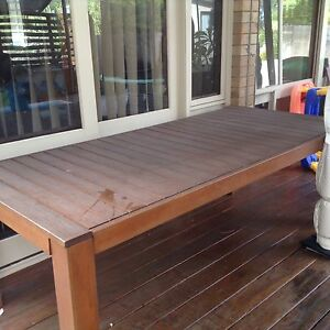 Outdoor table only 8 seater Narraweena Manly Area Preview