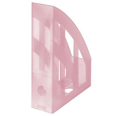 Herlitz Stehsammler A4 classic Pastell rosé Stehordner magazine file