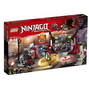 Brand New Lego Ninjago S.O.G. Headquarters 70640