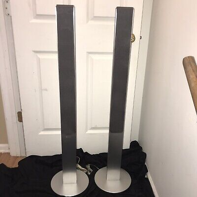 DAV-FR1 FR5 FR8 SS TS21 4 Ohm Front Floor Standing Home Theater Speakers Tall