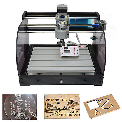 3axis Pro 3018 Cnc Machine Router Engraving Pcb Wood Diy Mill Cutter Metal Steel