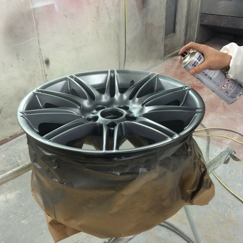 Application of a 2K Lacquer