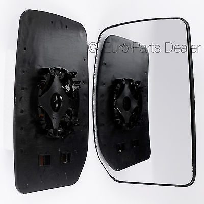 Driver side clip replacement on wing door mirror glass for Ford Transit 2000-12