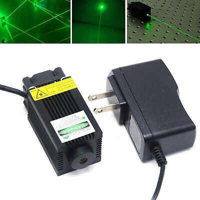 Industrial 532nm 100mw Green Dot Laser Diode Module Long Time Work 12v Adapter