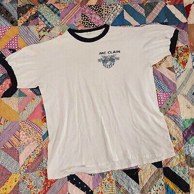 1940s Men's Shirts, Sweaters, Vests Vintage Antique 1940s Westpoint White US Navy t-shirt Shirt Top Men's Army Top $46.00 AT vintagedancer.com