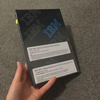 IBM SPSS statistics grad pack version 23.0 DVD Mac OS or Windows