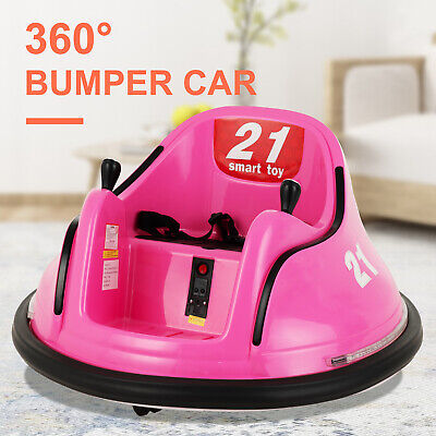 360° Bumper Car 6V Electric Kids Ride on Toy Spinning Motorized Vehicles