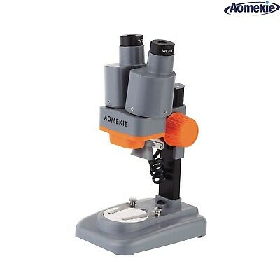Aomekie 40x Stereo Binoculars Microscope Led For Pcb Repairing Soldering Tool