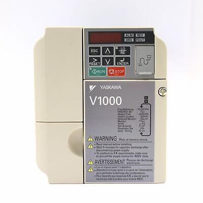 Yaskawa V1000 Vfd Inverter Drive 2.2kw 3hp 200 240v Cimr-vt2a0012baa