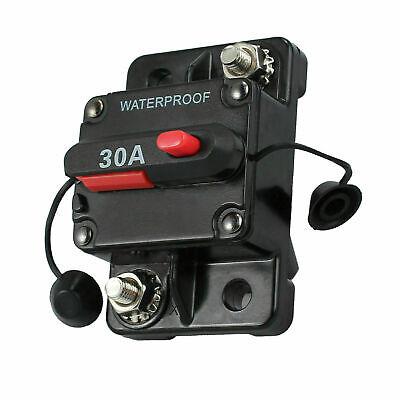 6amp Marine Car Circuit Breaker Ip67 Waterproof 12v 24v Panel Mount Reset 30a