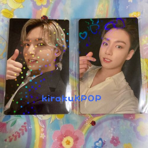(FEDEX)(Jungkook set) BTS - BE DELUXE - JAPAN LUCKY DRAW PHOTOCARD - 2pcs