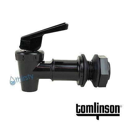 Tomlinson Spigot Water Crock Replacement Spigot Faucet Dispenser Valve BLACK USA