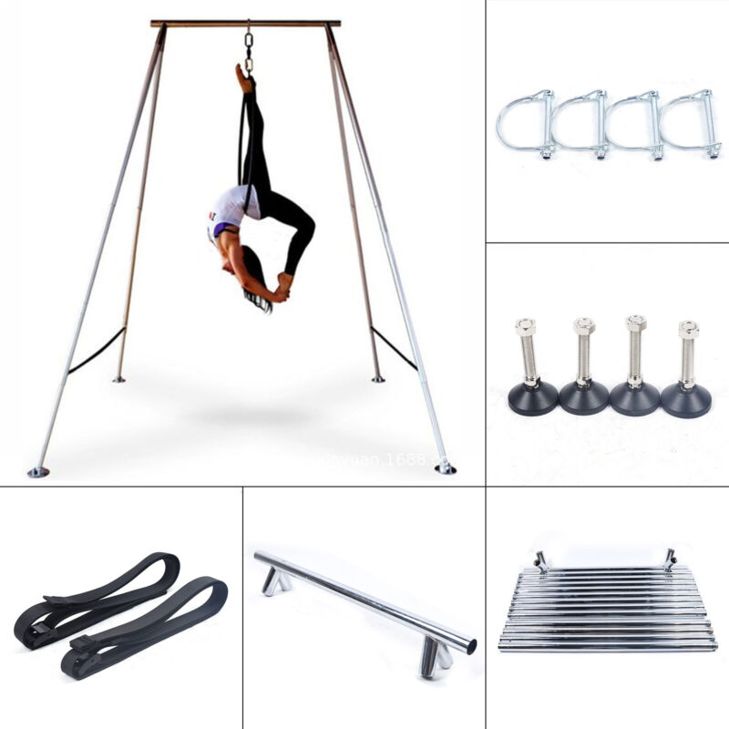 Hanging Yoga Trapeze Stand Swing Bar Bracket Heavy Bag Stand Indoor Fitness