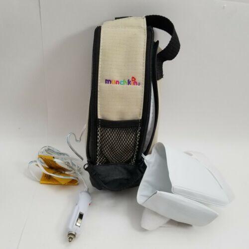 Munchkin Travel Car Baby Bottle Warmer Deluxe Milk Insulated Heat Portable WORKS