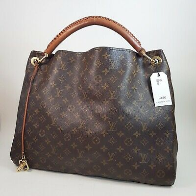Authentic Louis Vuitton Artsy GM Monogram M40259 Bag Shoulder Guaranteed LC150