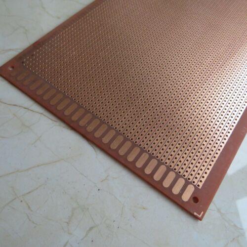 2x Stripboard 13x25cm Prototype paper uncut hole circuit Board Breadboard vero