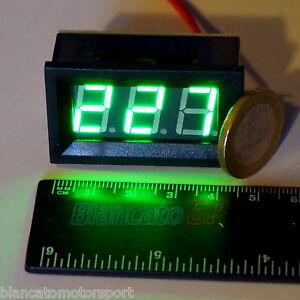 VOLTMETRO-AC-60-500V-LED-VERDE-pannello-220V-casa-incasso-digitale-solari-tester
