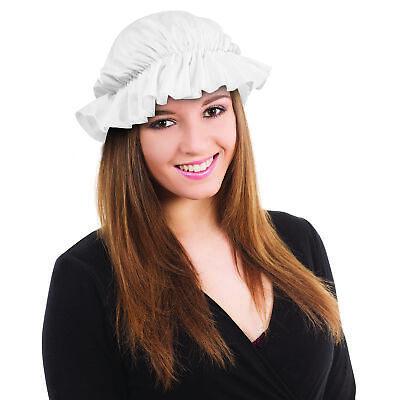 Viktorianische Magd Tudor Mop Kappe Schlecht Mädchen Maid Erwachsene Buch - Maid Kostüm Accessoires
