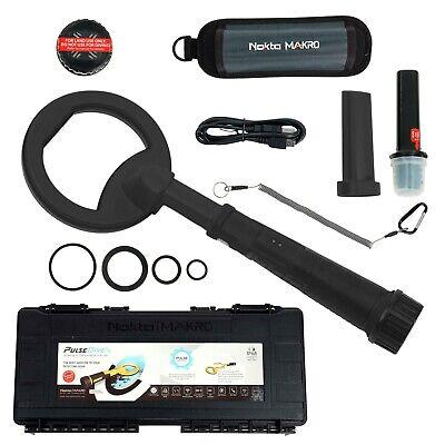 Nokta Makro Pulsedive Land And Sea Waterproof Detector Pinpointer 2-in-1 Black
