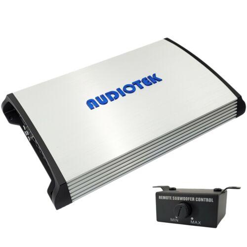Audiotek 1 Channel 8000 Watts Monoblock Class D 1 Ohm Stable Car Audio Amplifier