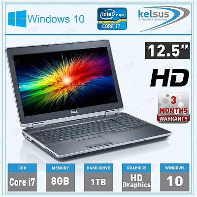 CHEAP Dell Latitude E6230 Core i7 CPU 8GB RAM 1TB HDD Windows 10 HDMI