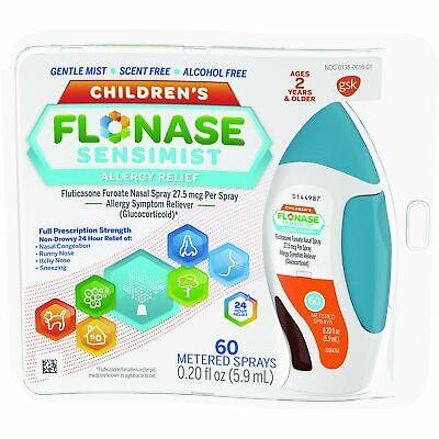 Flonase Children's Sensimist ALLERGY-RELIEF .34oz- 9.9ml-60