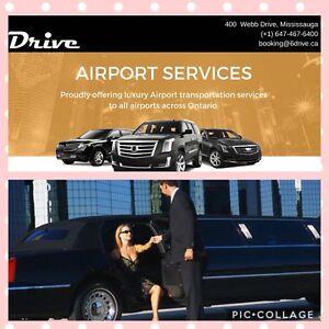 HAMILTON airport taxi limo service ✈️