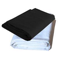 Kit 2x Fondale Dynasun W001+w002 3x4mt Bianco E Nero X Studio Foto E Video -  - ebay.it