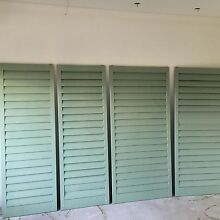 Cedar louvres Palm Beach Pittwater Area Preview