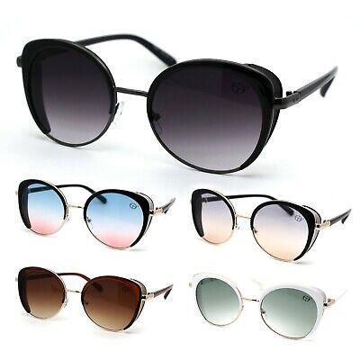 Womens Glitter Side Visor Gothic Cat Eye (Womens Visor Sunglasses)