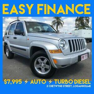 05 JEEP CHEROKEE AUTO TURBO DIESEL 4 CYLINDER Loganholme Logan Area Preview