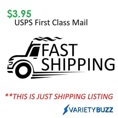$3.95 USPS First Class Mail - Shipping Service For Re-Shipping - Please Contact