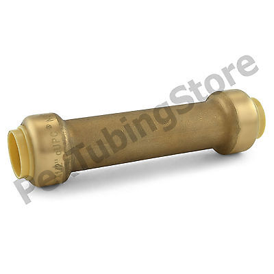 10 12 Sharkbite Style Push-fit Push To Connect Lf Brass Slip Couplings