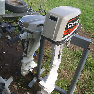 2x Chrysler outboards Denman Muswellbrook Area Preview