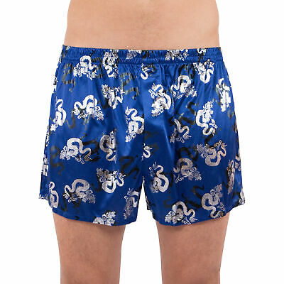 intimo Metallic Dragon Boxer Short Graphic Logo Underwear