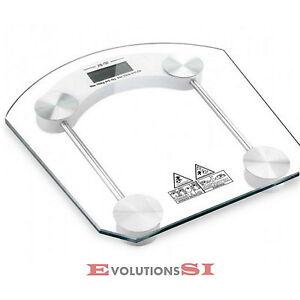 Bascula de ba o digital precision 150 kg peso cristal templado cuadrada envio 48 ebay - Bascula de bano digital ...
