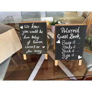 Wedding Blackboard Signs Arana Hills Brisbane North West Preview