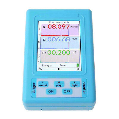 Electromagnetic Radiation Detector Lcd Professional Dosimeter Geiger Counter