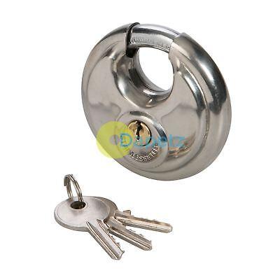 70mm Disc Lock Replacement Padlock Fits Doors Gates Van Vault Security Box