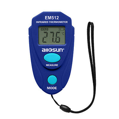 All-sun Non-contact Mini Digital Infrared Thermometer Temperature With Lcd Blue