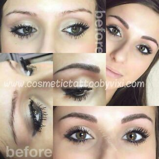 Cosmetic tattoo / Feather touch eyebrows  $100 OFF  Southport Gold Coast City Preview